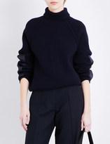 Victoria Beckham Turtleneck wool jumper