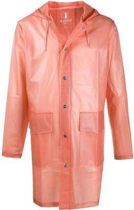 Rains Sheer Hooded Rain Coat