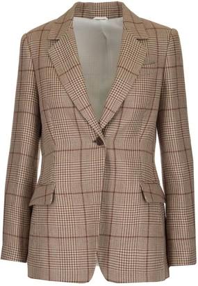 Brunello Cucinelli Tailored Check Blazer