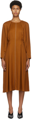 PARTOW Orange River Mid-Length Dress