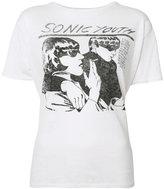 R 13 Sonic Youth T-shirt - women - Cotton/Spandex/Elastane - L