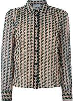 RED Valentino geometric print shirt