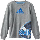 adidas Boys 4-7 Graphic Sports Tee
