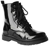 Gia-Mia Girls' Reignite Patent Combat Boots - Assorted Colors