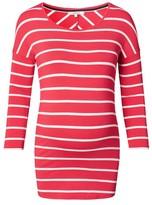 Noppies Women's Lila Stripe Maternity Tee
