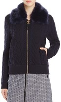 Tory Burch Contraire Merino Wool Sweater Jacket
