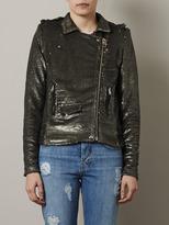 IRO Sequin biker jacket