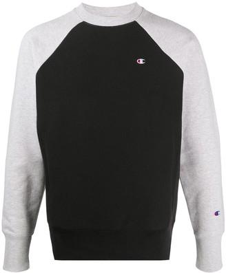 Champion Two-Tone Logo Sweatshirt