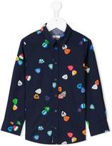 Paul Smith plectrum print shirt