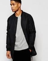 !solid Lightweight Nylon Jacket