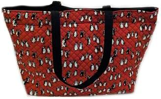 Vera Bradley Playful Penguins Grand-Tote