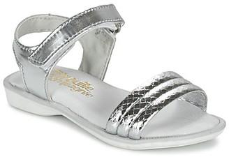 Citrouille et Compagnie GOSAGOLA girls's Sandals in Silver