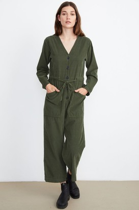 Velvet by Graham & Spencer Ruthann Corduroy Jumpsuit