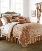 Waterford Margot Persimmon King Comforter Set Bedding