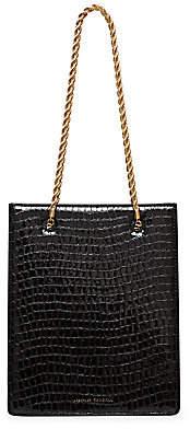Loeffler Randall Women's Antoinette Croc-Embossed Leather Shopper Tote