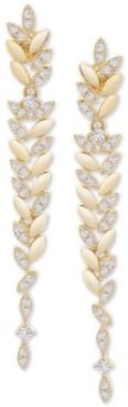 Wrapped in Love Diamond Vine Drop Earrings (1/2 ct. t.w.) in 14k Gold, Created for Macy's