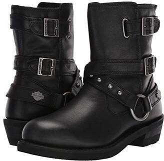 Harley-Davidson Janice (Black) Women's Boots