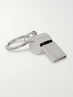 Asprey - Sterling Silver Whistle Key Fob - Men - Silver