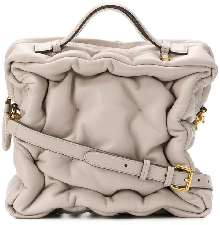 Anya Hindmarch Chubby Cube top tote