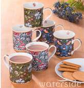 Kaleidoscope Set of 6 William Morris Mugs