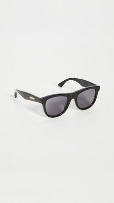 Bottega Veneta Acetate Wayfarer Sunglasses