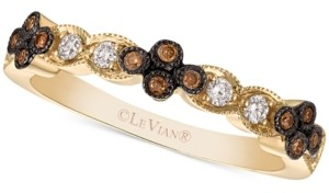 LeVian Le Vian Chocolatier Diamond Band (1/5 ct. t.w.) in 14k Gold