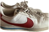 Nike Cortez White Leather Trainers
