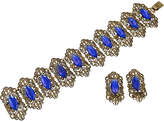 One Kings Lane Vintage Edwardian Vauxhall Glass Bracelet Suite