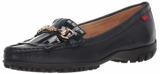 Marc Joseph New York Women's Golf Leather Made in Brazil Lexington Fashion Shoe Moccasin