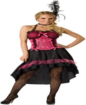 BuySeasons Buy Seasons Women's Saloon Gal Costume