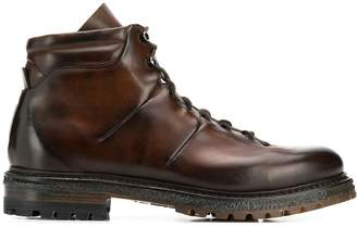 Silvano Sassetti lace-up ankle boots