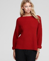 Sweater - Ribbed Boat Neck