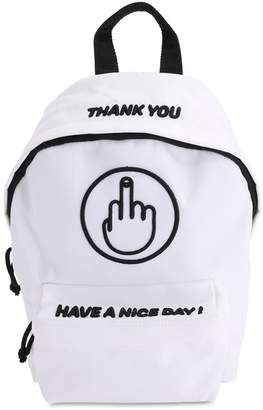 Vetements Small Have A Nice Day Backpack