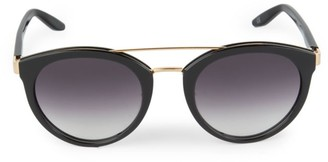 Barton Perreira Dalziel 52MM Top Bar Round Sunglasses