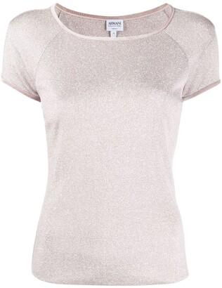 Giorgio Armani Pre-Owned 1990s boat neck T-shirt