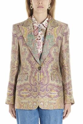 Etro Paisley Printed Blazer