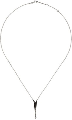Colette 18kt white gold Shooting Star diamond pendant necklace