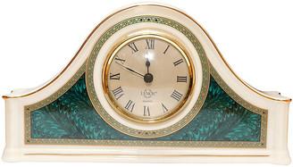 One Kings Lane Vintage Lenox Porcelain Camel Back Mantle Clock