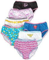 Justice League Cotton Underwear, 7-Pack, Little Girls (4-6X) & Big Girls (7-16)
