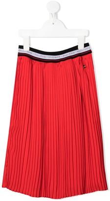 Boss Kids Midi Pleated Skirt