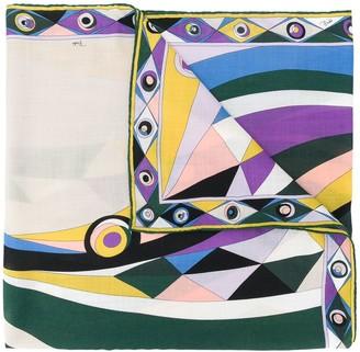 Emilio Pucci Geometric-Print Scarf