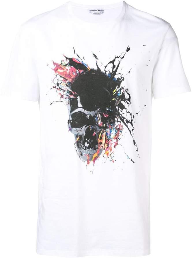 90c0fe306 Alexander Mcqueen Skull Shirts - ShopStyle