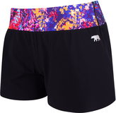 Running Bare Courts Luxe Running Short