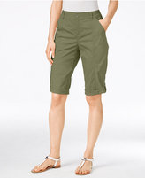 Style&Co. Style & Co. Cuffed Bermuda Shorts, Only at Macy's