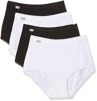 Playtex Women's Full Brief Pack of 4,(Manufacturer Size: 52)