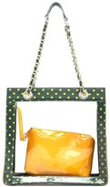clear SCORE! Designs Tote Bag with Privacy Pouch - Andrea