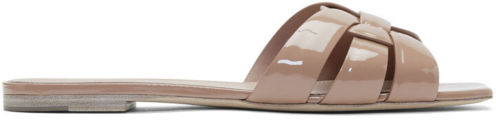 Saint Laurent Pink Tribute Sandals