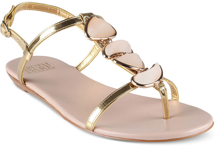 Truth or Dare Shoes, Deitrick Flat Sandals
