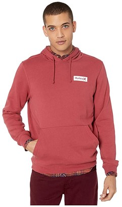 Hurley One and Only Boxed Flashback Pullover (Cedar) Men's Clothing