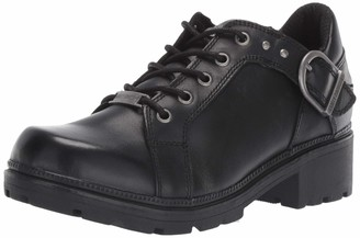 Harley-Davidson Women's Rovana 3-Inch Casual Ankle Boots D84407 (Black 7.5)